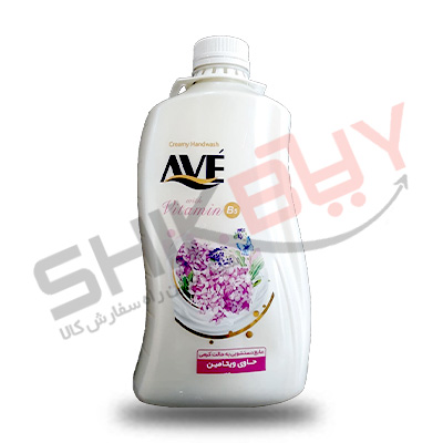 مایع دستشویی کرمی شیر و شکوفه ۲لیتری اوه