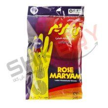 دستکش خانگی معمولی سایز کوچک- رز مریم