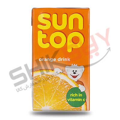 آب پرتقال ۱۲۵ میلی لیتری سان تاپ