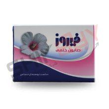 صابون گل ختمی ۱۲۰ گرمی فیروز