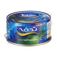 تن ماهی ۱۸۰ گرمی شیویدی تحفه
