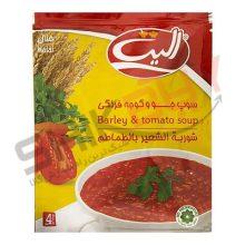 سوپ جو و گوجه الیت