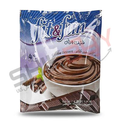 پودینگ فوری شکلاتی فیت و فان الیت