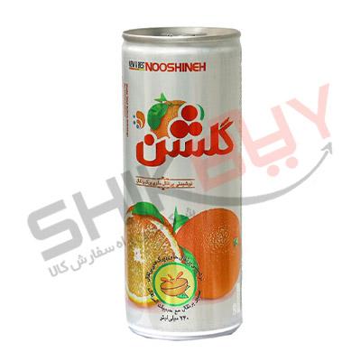 نوشیدنی قوطی پرتقال-گلشن