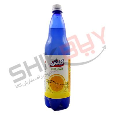 دلستر گازدار ۱لیتری لیموناد گلشن