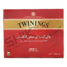 چای تی بگ سنتی انگلیسی ۵۰ عددی توینینگز