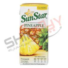 نوشیدنی کلاسیک آناناس ۲۰۰ سی سی – سان استار