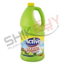 مایع سفید کننده معطر ۴لیتری سبز اکتیو