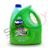 مایع ظرفشویی سیلور۳۷۵۰گرمی سبز اکتیو