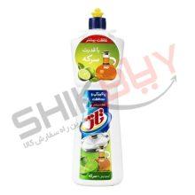 مایع ظرفشویی تاژ ۱ لیتری لیمو و سرکه