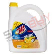 مایع ظرفشویی تاژ لیمو و سرکه ۳۷۵۰گرمی
