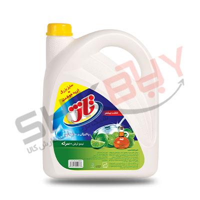 مایع ظرفشویی تاژ لیمو و جوش شیرین ۳۷۵۰گرمی