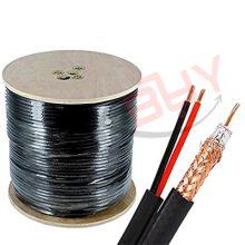 کابل شبکه RG59+Power/CU