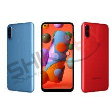 گوشی موبایل سامسونگ مدل Galaxy A11 دو سیم کارت با رم ۳ گیگابایت و ظرفیت ۳۲ گیگابایت